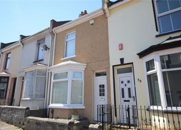 Thumbnail 2 bed terraced house for sale in Victory Street, Plymouth, Devon
