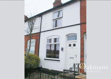 Thumbnail 2 bed terraced house for sale in Reservoir Road, Selly Oak, Birmingham, West Midlands.