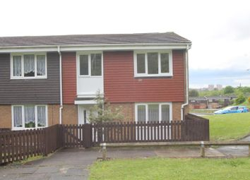 Thumbnail 3 bed end terrace house to rent in Lightfields Walk, Rowley Regis, West Midlands