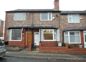 Thumbnail 2 bed terraced house to rent in Bancroft Road, Hale, Altrincham