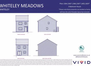 Thumbnail 3 bed detached house for sale in Vivid @ Whiteley Meadows, Whiteley