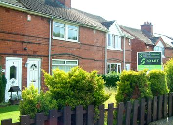 Thumbnail 1 bed flat to rent in West End Lane, Rossington, Doncaster