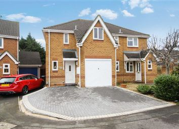 Thumbnail 3 bed semi-detached house for sale in Copse Avenue, Swindon, Wilts