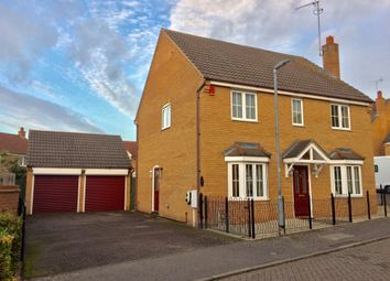 Thumbnail 4 bed detached house for sale in Steel Close, Thrapston, Kettering