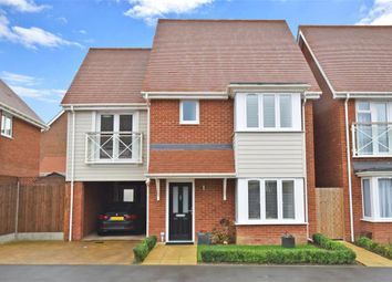 Thumbnail 4 bed detached house for sale in Manley Boulevard, Holborough Lakes, Snodland, Kent