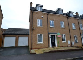 Thumbnail 3 bed semi-detached house to rent in Howards Way, Northampton
