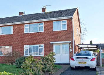 Thumbnail 3 bedroom semi-detached house for sale in Stokesay Road, Wellington, Telford