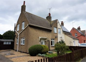 Thumbnail 3 bed semi-detached house for sale in New Road, Peterborough