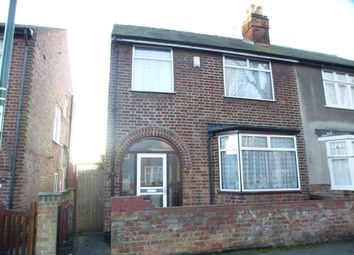 Thumbnail 3 bed semi-detached house for sale in Welby Avenue, Nottingham