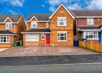 Thumbnail 4 bed detached house to rent in Watermint Close, Wimblebury, Staffordshire