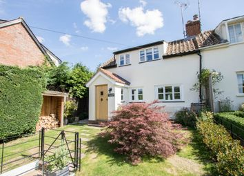 Thumbnail 3 bed end terrace house for sale in The Row, Hadstock, Cambridge