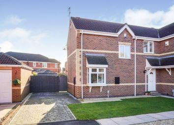 Thumbnail 2 bed semi-detached house for sale in Loganberry Drive, Hull
