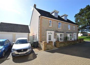 Thumbnail 4 bed semi-detached house for sale in Lower Trindle Close, Chudleigh, Newton Abbot, Devon