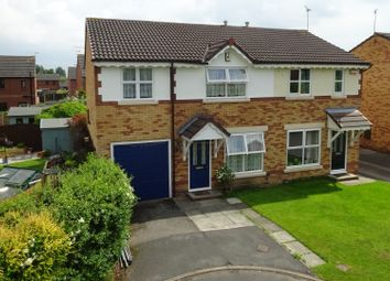 Thumbnail 3 bed semi-detached house for sale in Ashleigh Close, Chester