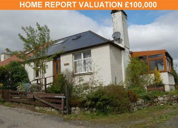Thumbnail 2 bed semi-detached bungalow for sale in Main Street, Lairg, Sutherland