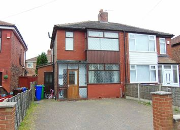 Thumbnail 3 bed semi-detached house for sale in Manton Avenue, Blackley, Manchester