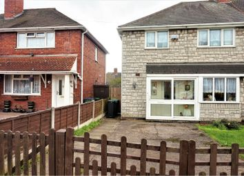 Thumbnail 4 bedroom semi-detached house for sale in Glastonbury Road, West Bromwich