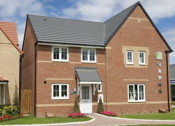 "Thumbnail 3 bedroom semi-detached house for sale in ""Barwick"" at Dewsbury Road, Wakefield"