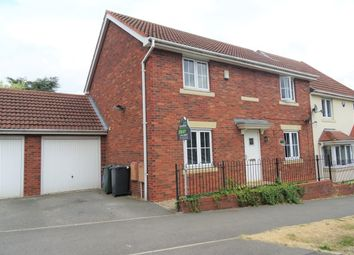 Thumbnail 4 bed semi-detached house to rent in Harvesters Way, South Milford, Leeds