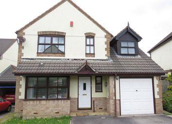 Thumbnail 4 bed detached house for sale in Highfield Park, Latchbrook, Saltash
