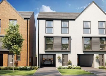 "Thumbnail 3 bed town house for sale in ""The Townhouse V3 (3)"" at Ffordd Penrhyn, Barry"