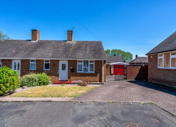 Thumbnail 1 bed semi-detached bungalow for sale in Addison Close, Cannock
