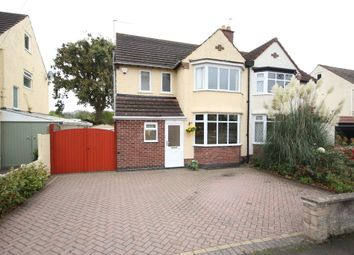 Thumbnail 3 bed semi-detached house to rent in Allestree Lane, Allestree, Derby