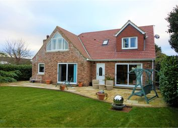 Thumbnail 4 bed detached house for sale in Brigg Lane, Selby