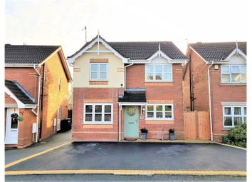 Thumbnail 3 bed detached house for sale in Old Hall Drive, Newcastle