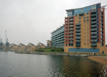 Thumbnail 3 bed flat to rent in Hanover Avenue, Docklands, London