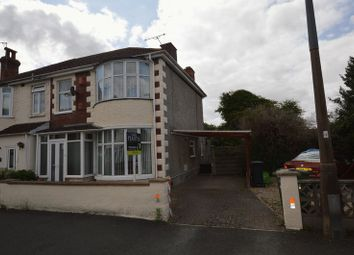 Thumbnail 3 bed semi-detached house for sale in Hill View Road, Weston-Super-Mare
