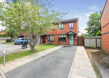 Thumbnail 2 bed semi-detached house for sale in Larkspur Close, Chester