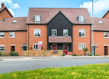 Thumbnail 3 bedroom town house for sale in Wroxham Road, Sprowston, Norwich