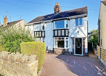 Thumbnail 3 bed semi-detached house to rent in Storrs Road, Chesterfield, Derbyshire