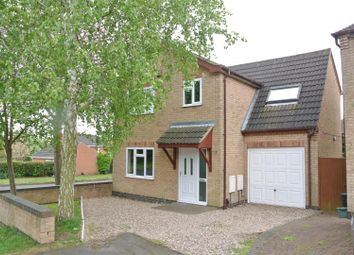 Thumbnail 4 bed detached house for sale in Portgate, Wigston
