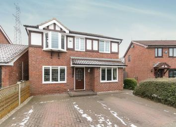 Thumbnail 4 bed detached house for sale in Tewkesbury Close, Great Sutton, Ellesmere Port