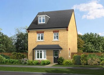 "Thumbnail 4 bedroom detached house for sale in ""The Buxton"" at Lovesey Avenue, Hucknall, Nottingham"