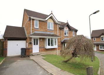 Thumbnail 3 bed semi-detached house for sale in Fincer Drive, Woodlands, Ivybridge