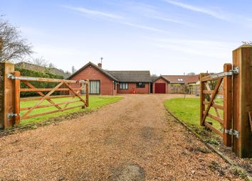 Thumbnail 4 bedroom detached bungalow for sale in Mill Road, Redlingfield, Eye