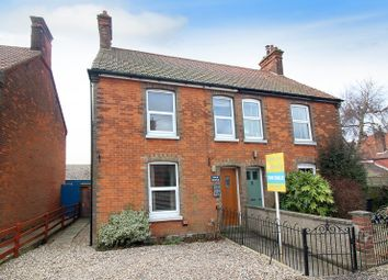 Thumbnail 3 bed semi-detached house for sale in York Road, Stalham, Norwich