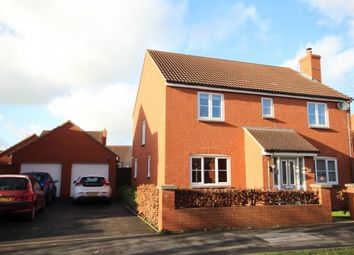Thumbnail 4 bedroom detached house for sale in Stockmoor Drive, North Petherton, Bridgwater