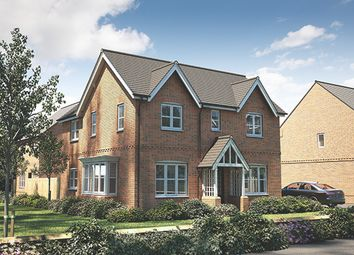 "Thumbnail 4 bed detached house for sale in ""The Caulke"" at Banbury Road, Southam"