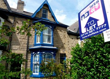 Thumbnail 1 bed terraced house to rent in Professional House Share - Psalter Lane, Sheffield