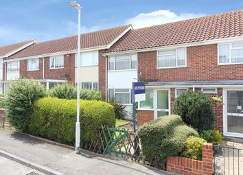 Thumbnail 3 bed terraced house for sale in Appledore Crescent, Cheriton, Folkestone