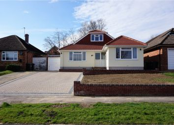 Thumbnail 4 bed detached bungalow for sale in Rosemary Way, Cowplain, Waterlooville