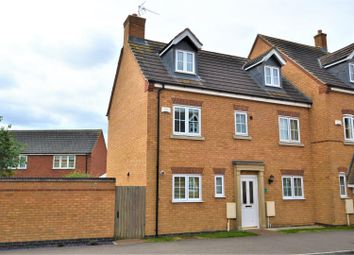 Thumbnail 5 bed semi-detached house for sale in Laughton Drive, Stamford