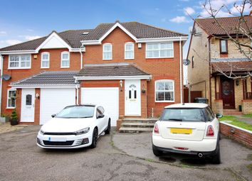 Thumbnail 3 bedroom semi-detached house for sale in Thistledown Road, Horsford, Norwich