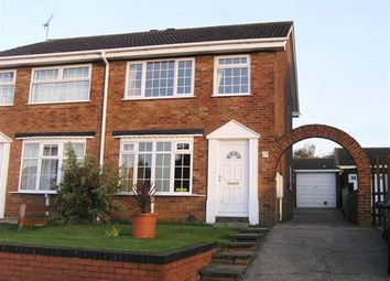 Thumbnail 3 bed semi-detached house to rent in Valley View Drive, Bottesford, Scunthorpe
