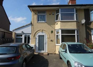 Thumbnail 3 bed semi-detached house for sale in Hall Green Road, Coventry