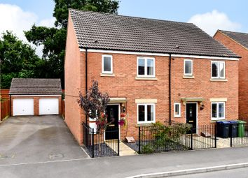 Thumbnail 3 bed semi-detached house to rent in Swaledale Road, Warminster